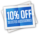 10% off selected items